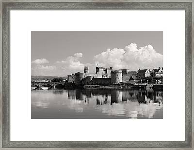 King John's Castle Limerick Ireland Framed Print
