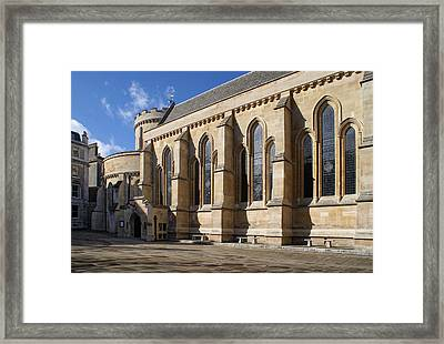 Knights Templar Temple In London Framed Print