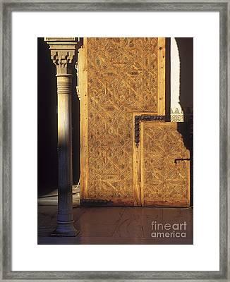 La Alhambra Framed Print by Guido Montanes Castillo