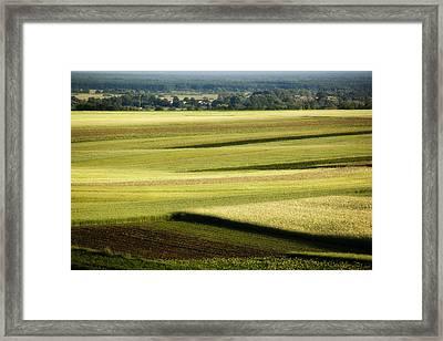 Landscape Framed Print by Anna Gora