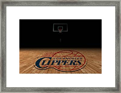 Los Angeles Clippers Framed Print by Joe Hamilton
