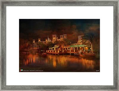 Madinat Jumeirah Framed Print