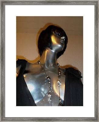 Magic Fortuna Life Like Silver Coated Treasure 180cm Tall Worldwide Shipping Only One Framed Print