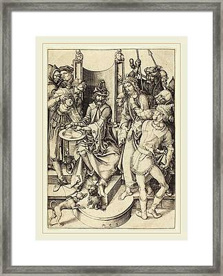 Martin Schongauer German, C. 1450-1491 Framed Print by Litz Collection