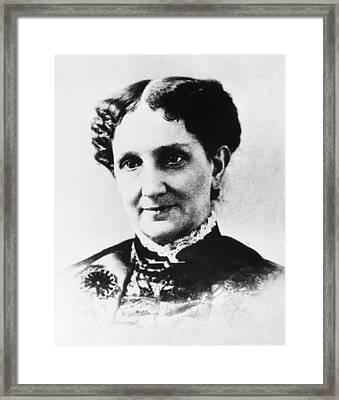 Mary Baker Eddy (1821-1910) Framed Print by Granger