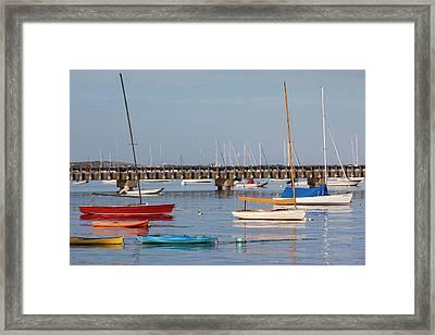 Massachusetts, Cape Cod, Provincetown Framed Print by Walter Bibikow