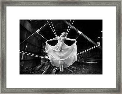 Melissa Framed Print by Cory Mcburnett