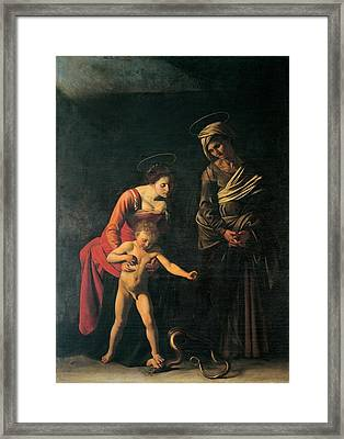Merisi Michelangelo Known Framed Print by Everett