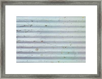 Metallic Background Framed Print