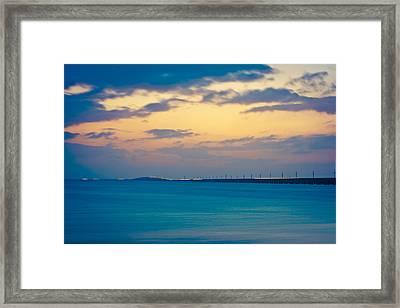 7 Mile Bridge 8 Framed Print by Scott Meyer