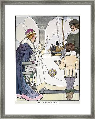 Mother Goose, 1916 Framed Print by Granger