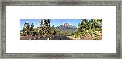 Mount Bachelor Framed Print by Twenty Two North Photography