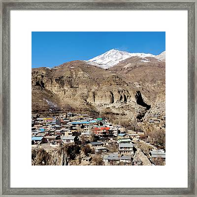 Mount Damavand Framed Print by Babak Tafreshi