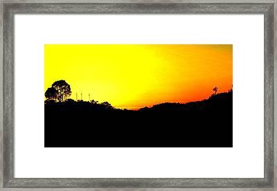 Nature Framed Print by Viren Rana