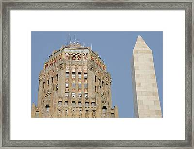 New York, Buffalo, City Hall Framed Print