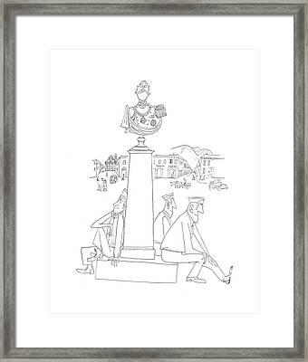 New Yorker July 29th, 1944 Framed Print