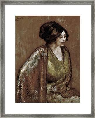 Nonell I Monturiol, Isidre 1873-1911 Framed Print