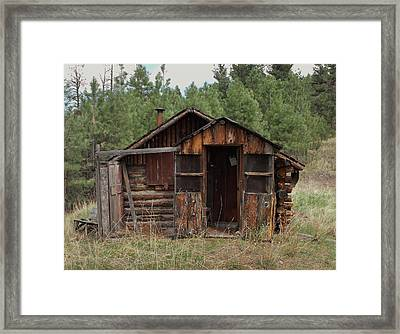 Old And Abandoned Framed Print by Yvette Pichette