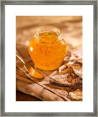 Orange Marmalade Framed Print by Iris Richardson