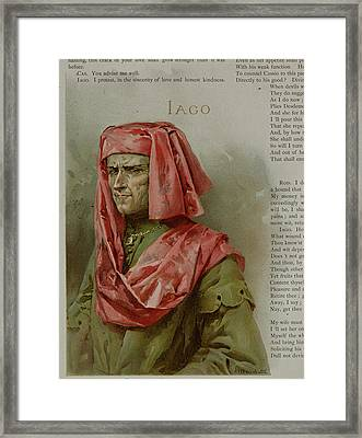 Othello. The Moor Of Venice Framed Print