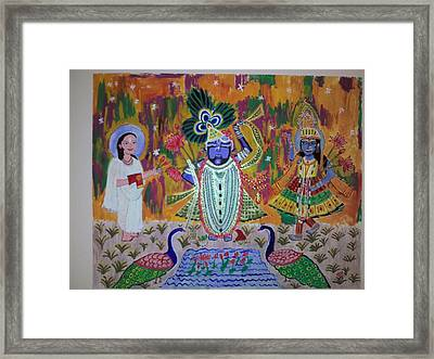 Painting Framed Print by Neha  Shah