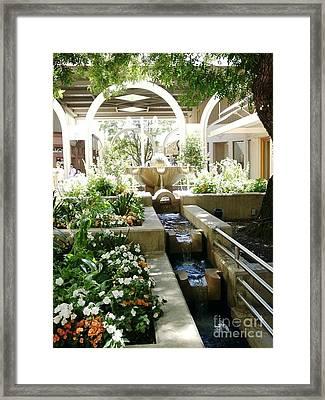 Palo Alto Shopping Center Framed Print