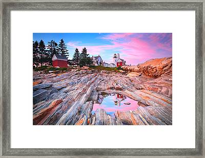 Pemaquid Lighthouse Framed Print by Emmanuel Panagiotakis