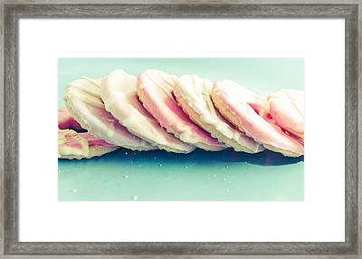Pink Cookies Framed Print