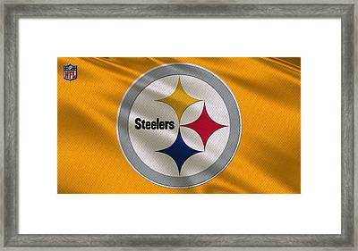 Pittsburgh Steelers Uniform Framed Print