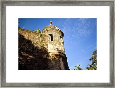 Puerto Rico, San Juan, Fort San Felipe Framed Print