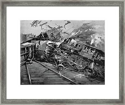 Pullman Strike, 1894 Framed Print