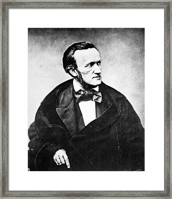 Richard Wagner (1813-1883) Framed Print