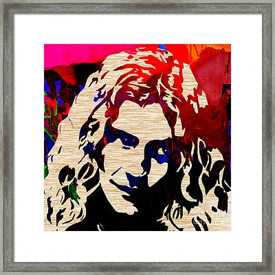 Robert Plant Framed Print