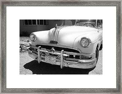 Route 66 - Classic Car Framed Print by Frank Romeo