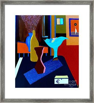 7 Rue Cadet Framed Print