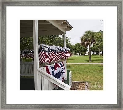 Ryckman House In Melbourne Beach Florida Framed Print by Allan  Hughes