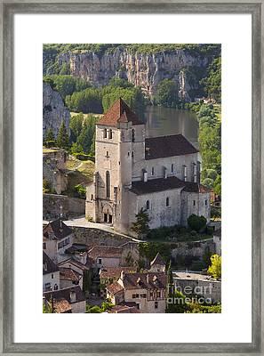 Saint Cirq-lapopie Framed Print