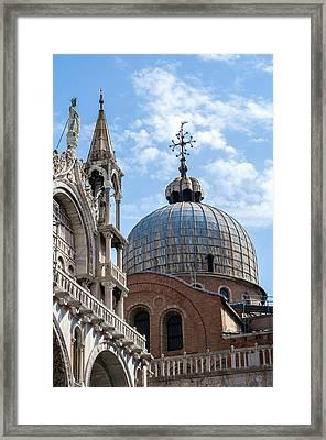 San Marco Basilica. Framed Print by Fernando Barozza
