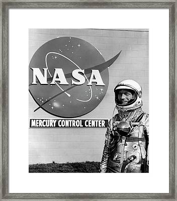 Scott Carpenter Framed Print