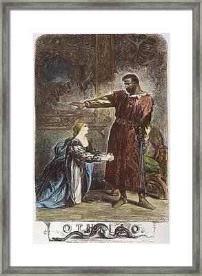 Shakespeare Othello Framed Print