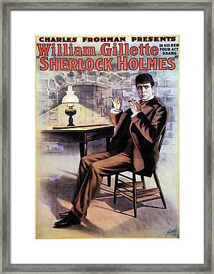Sherlock Holmes Framed Print by Granger