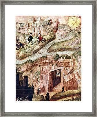 Sir Henry Unton (c1557-1596) Framed Print by Granger