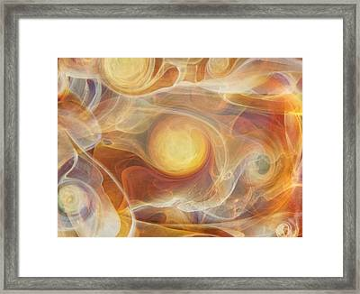 Solara Framed Print by Jubilant  Art