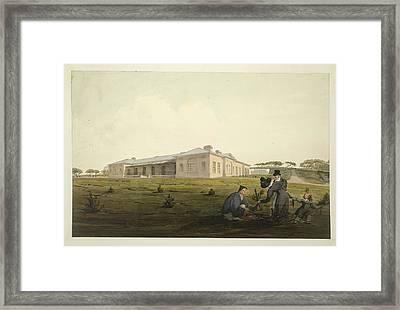 St. Helena Framed Print