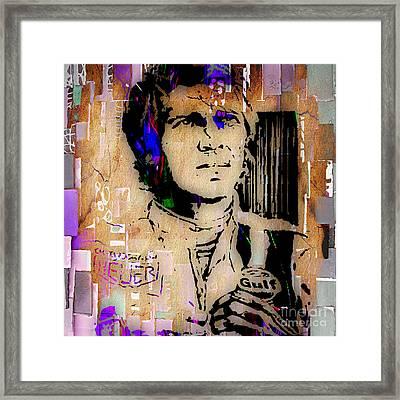 Steve Mcqueen Collection Framed Print