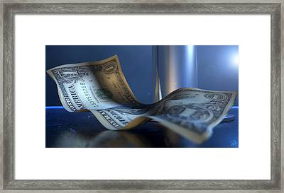 Strippers Recession Framed Print by Allan Swart