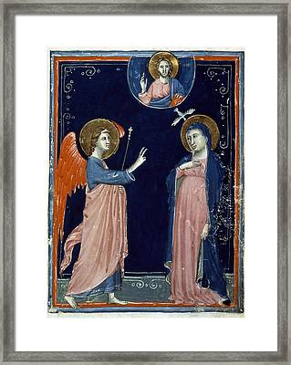 The Annunciation Framed Print by Granger