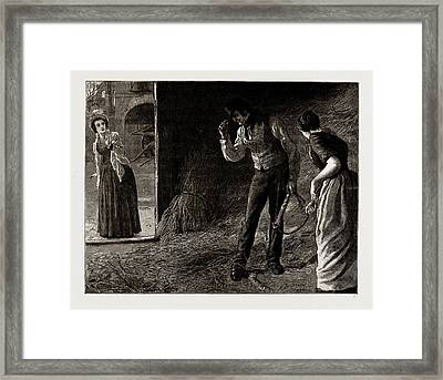 The Mayor Of Casterbridge, Drawn By Robert Barnes Framed Print by Litz Collection