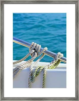 The Ropes Framed Print