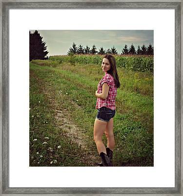 The Seduction Of Carrie Framed Print by Cyryn Fyrcyd
